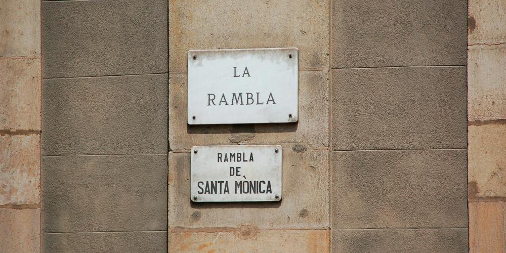 La Rambla y otros paseos alquiler mensual en Barcelona - Lodging Management